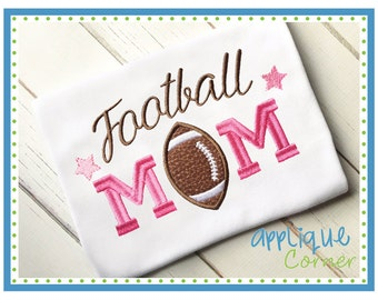 Football Mom Custom Tee Shirt - Customizable 29