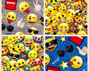 Emoji Pattern Minky Blanket