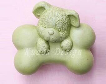 LV017 It is mine Soap Mold, soap mold, silicone soap mold (Kudos Design, Kudosoap) Taiwan