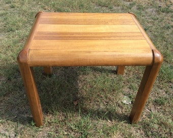 Vintage Retro Lane Mid Century Danish Modern End Side Table