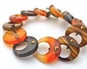 Banded Agate Bracelet - small