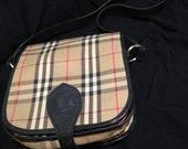 Vintage Burberry Cross Body ( Shoulder) Bag