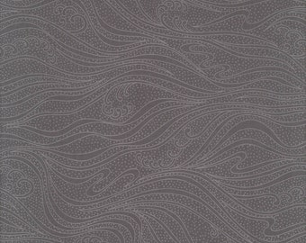 Tone on Tone Waves Ash - Color Movement Collection - Kona Bay Fabrics MOVE-01 ASH (sold by the 1/2 yard)