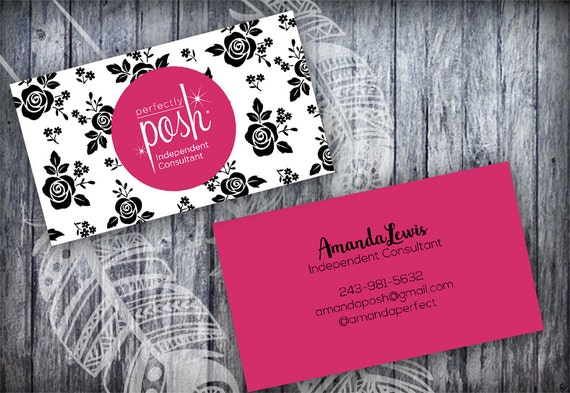 perfectly posh business card black roses floral business card template layered psd and jpegs no. Black Bedroom Furniture Sets. Home Design Ideas