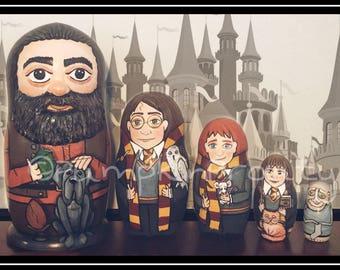 Harry Potter 5* piece nesting doll set