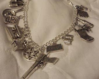Supernatural inspired 'The Bunker' bracelet