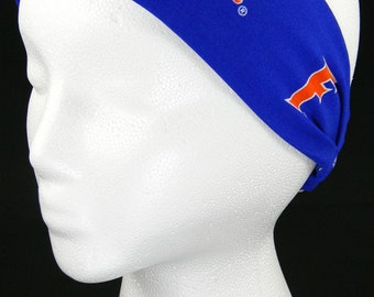University of Florida Gators Headwrap/Headband (Handmade in the United States)
