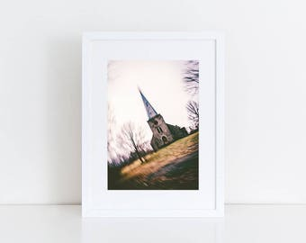 Abandoned Church - Urban Exploration - Fine Art Photography Print