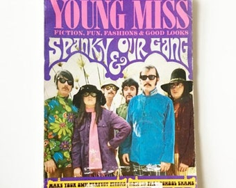 Vintage Young Miss YM Magazine October 1968