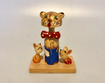 Russian toy of Leopold the Cat