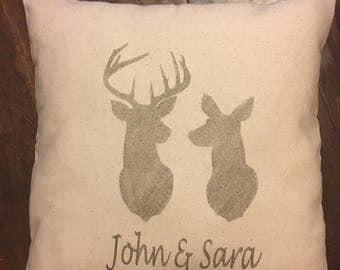 Wedding, Anniversary Pillows-Personalize with name and date!  16 by 16-Great to keep or to give-Special Request-Personalize for free