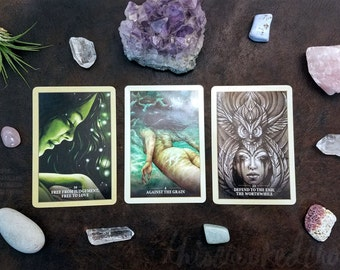 Loving Myself. Self-care, self-love, & self-improvement. Intuitive psychic tarot oracle card divination simple relationship reading