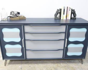 Fun Mid Century Dresser/Cabinet