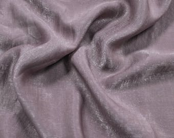 Mauve Soft Poly Sand Wash Satin Fabric by the Yard - Style 682
