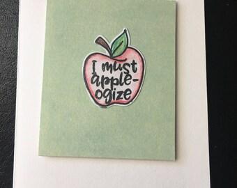 Solid apple-ogize