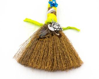 Mini Besom Broom Lammas Lughnasadh Sabbat Witch Broom