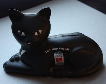 Eveready Batteries Black Cat Plastic Bank