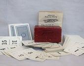 Vintage Flinch Card Game - Vintage Card Game - Antique Flinch Card Game - Old Card Game - Antique Card Game - Game Room Decor