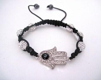 Hamsa Hand Bracelet.