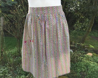 Half Apron in Fabulous Colourful and Cheerful Cotton