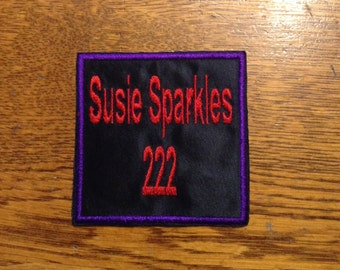 Custom Roller Derby Name and Number Patch
