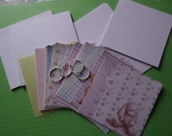 DIY scrapbook album Kit baby 6 x 6 inch
