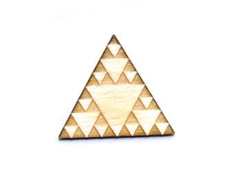 Sierpinski Triangle Pin