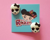 Skull And Bows Earrings, ...