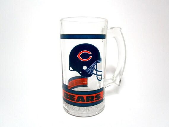 Vintage Chicago Bears Beer Mug, Chicago Bears Mug, Great Condition, Da Bears, Chicago Bears Fan