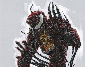 CARNAGE - by comic book artist Blair Shedd