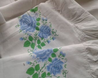 A Pair of Pretty Vintage Pillowcases