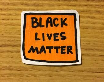 black lives matter racial equality activism feminist sticker