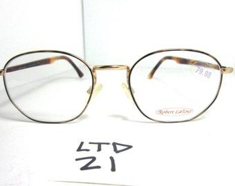 Vintage ROBERT LATOUR Eyeglass Frame rlts-110 Trls Tortoise Early 90s (LTD-21)