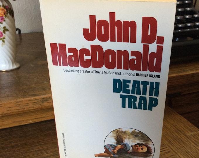 Death Trap by John MacDonald, John D. MacDonald novel Death Trap 1993, John D. MacDonald vintage novel, bestselling authors