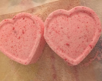 Organic Pink Lemonade Bath Bombs