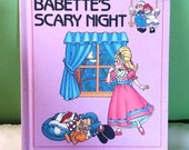 Babettes Scary Night childrens book, Raggedy Ann and Andy, Grow and Learn Library, 1988, Volume 6, Ages 4+