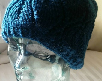 Leaf sparkle slouch hat