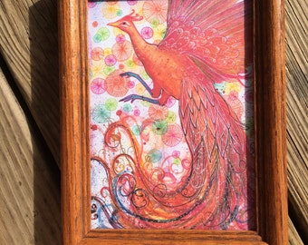 Phoenix Rising 5x7 Framed Print