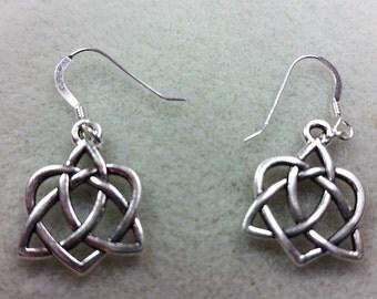 Saint Patrick Day Celtic Knot Earrings