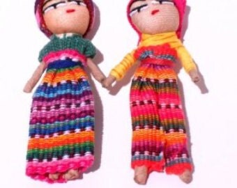 "Lg 3"" Worry Doll for Crafts"