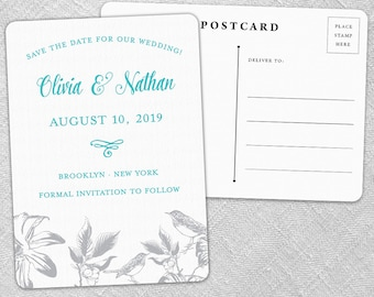 Chirp - Postcard - Save-the-Date