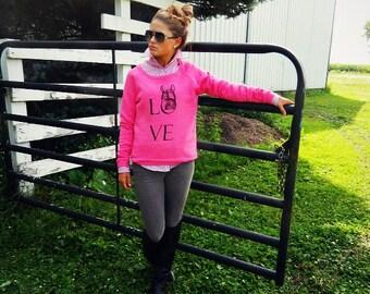 Horse Sweatshirt - Equestrian Sweatshirt