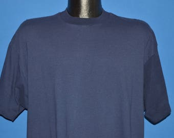 80s Bloopers Blue Blank t-shirt Extra Large