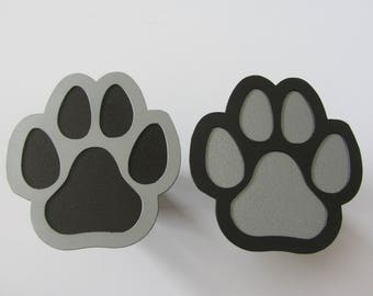 Dog Paw 16 Gauge Steel Trailer Hitch Cover