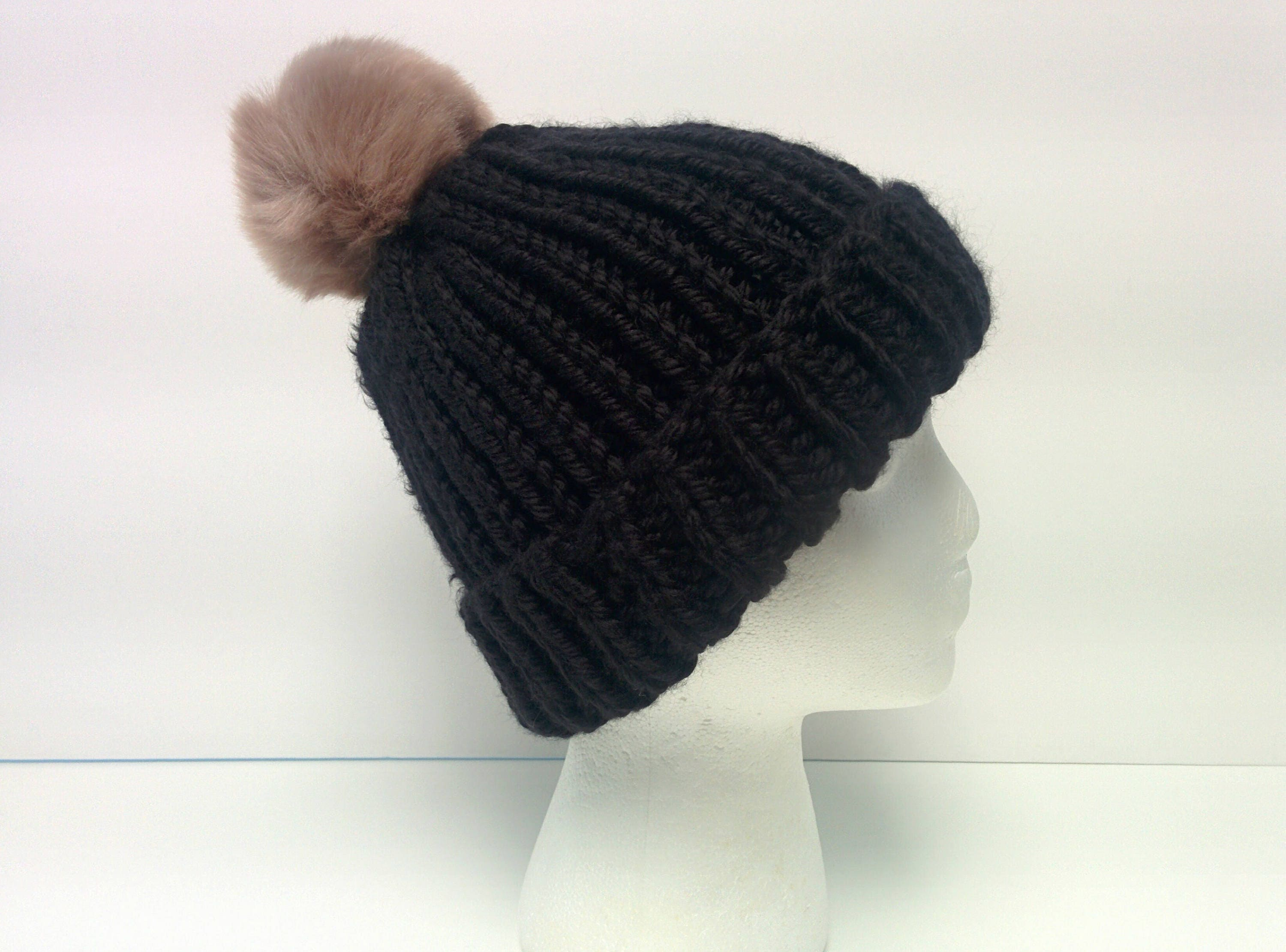KNITTING PATTERN: Ribbed Beanie | knitting patterns for hats | knit ...