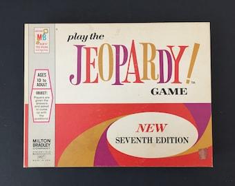 1970 Jeopardy Game- Seventh Edition- Milton Bradley- Trivia Game