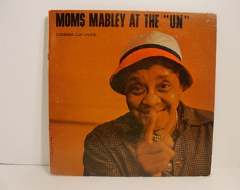 """Moms MABLEY at the """"UN"""" Chess LP 1452 1960 Performance"""