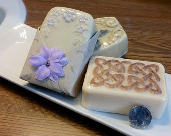 Handmade Shea Butter & Goat's Milk Soap