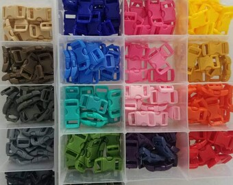 Plastic Buckle side release