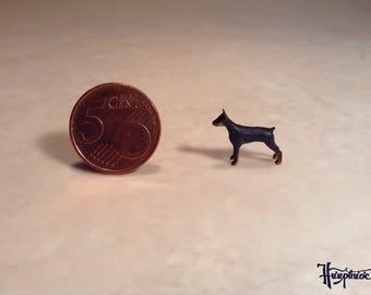 Wooden miniature dog